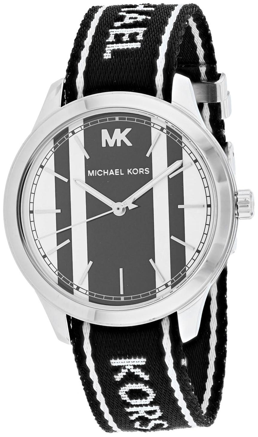 Michael Kors Runway Dameklokke MK2795 Flerfarget/Tekstil Ø38 mm - Michael Kors