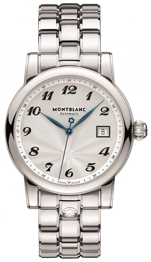 Montblanc Star Herreklokke 107316 Sølvfarget/Stål Ø40 mm - Montblanc