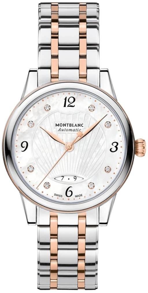 Montblanc Boheme Dameklokke 119098 Hvit/18 karat rosé gull Ø28 mm - Montblanc