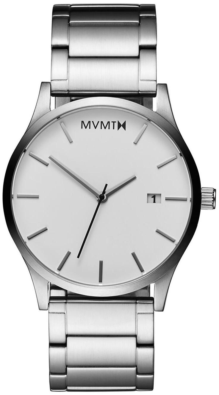 MVMT Classic Herreklokke L213.1B.131 Hvit/Stål Ø45 mm - MVMT