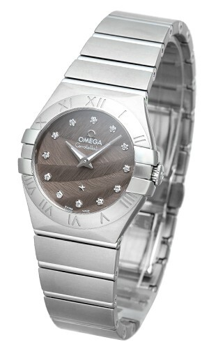 Omega Constellation Quartz 27mm Dameklokke 123.10.27.60.56.001 - Omega