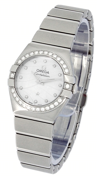 Omega Constellation Co-Axial 27mm Dameklokke 123.15.27.20.55.002 - Omega