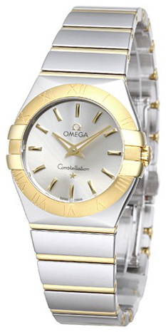 Omega Constellation Quartz 27mm Dameklokke 123.20.27.60.02.004 - Omega