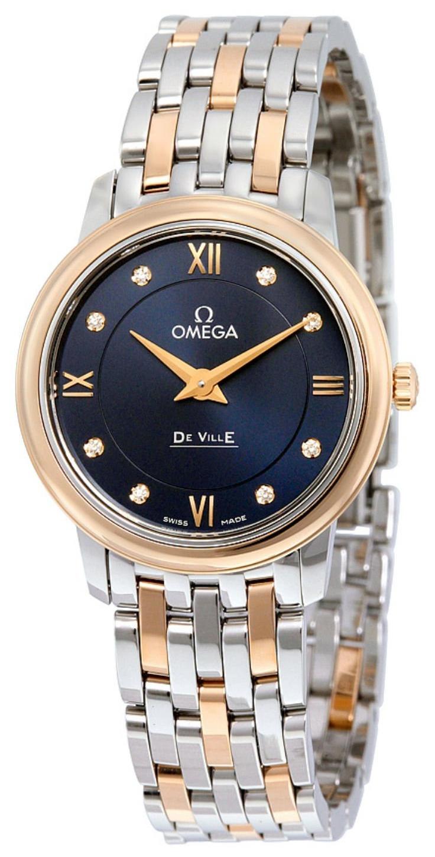 Omega De Ville Prestige Quartz 27.4mm Dameklokke 424.20.27.60.53.001 - Omega