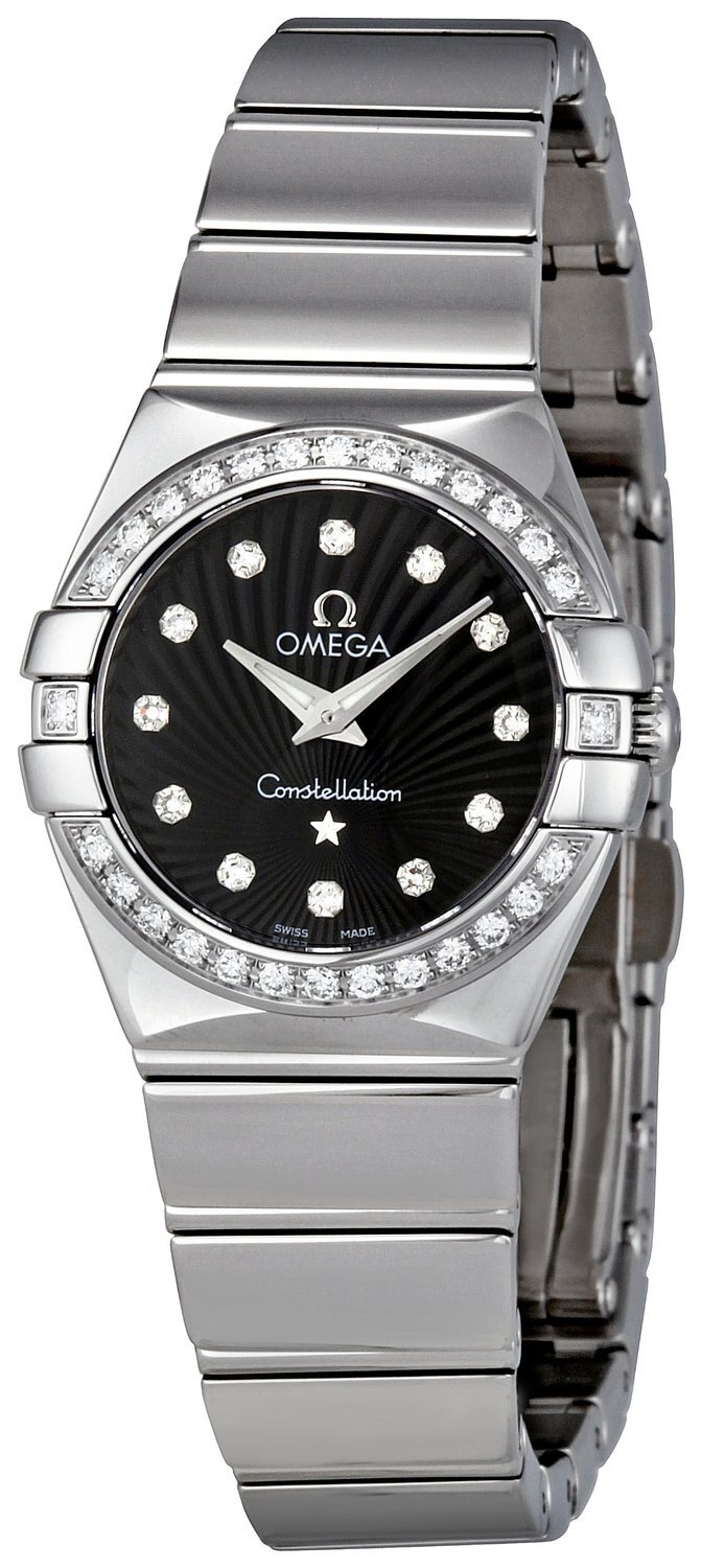 Omega Constellation Quartz 24mm Dameklokke 123.15.24.60.51.002 - Omega