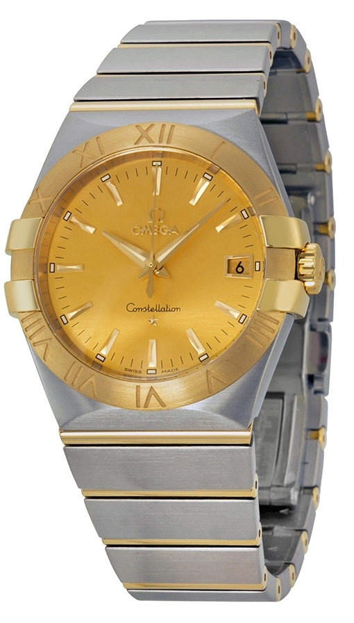 Omega Constellation Quartz 35mm Herreklokke 123.20.35.60.08.001 - Omega