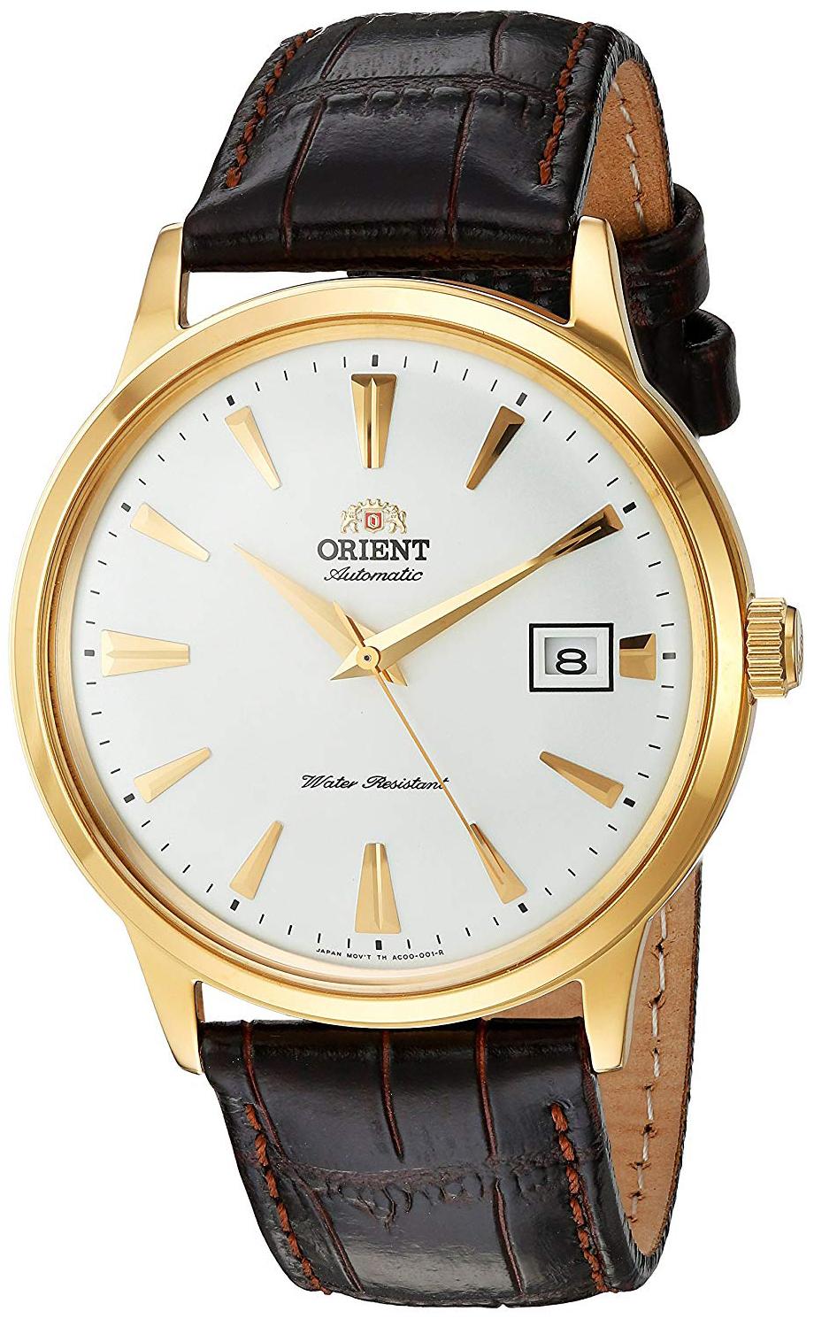 Orient Classic Herreklokke FAC00003W0 Hvit/Lær Ø40 mm - Orient