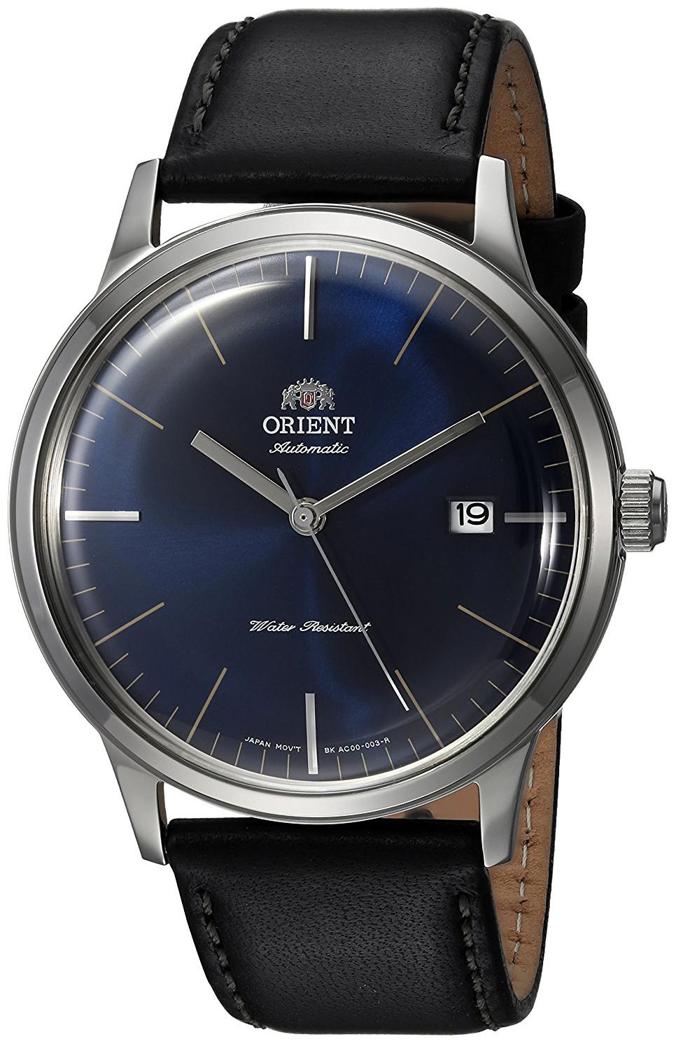 Orient Classic Herreklokke FAC0000DD0 Blå/Lær Ø41 mm - Orient