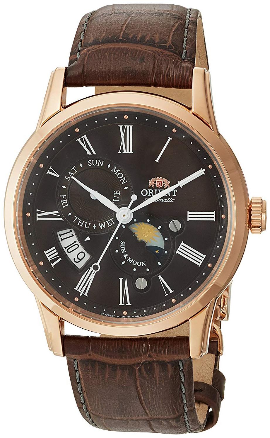 Orient Classic Herreklokke FAK00003T0 Brun/Lær Ø42.5 mm - Orient