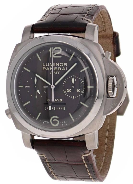 Panerai Special Luminor 1950 Titanium 8 Days Chrono Monopulsante GMT - Panerai