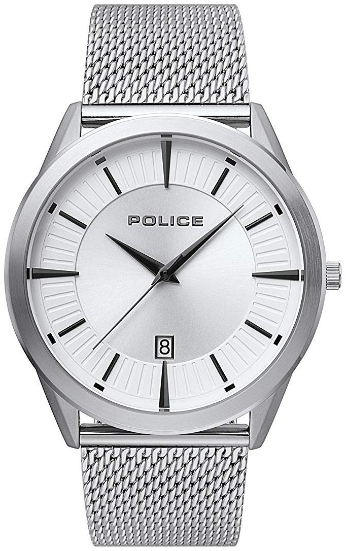 Police Patriot Herreklokke PL15305JS/04MM Sølvfarget/Stål Ø44 mm - Police