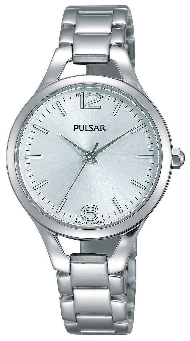 Pulsar Dress Dameklokke PH8183X1 Sølvfarget/Stål Ø30 mm - Pulsar