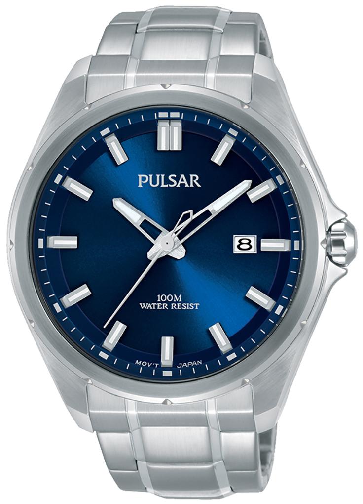 Pulsar 99999 Herreklokke PS9549X1 Blå/Stål Ø44 mm - Pulsar