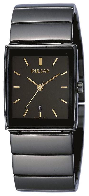 Pulsar Dress Dameklokke PXQ537X1 Sort/Stål - Pulsar