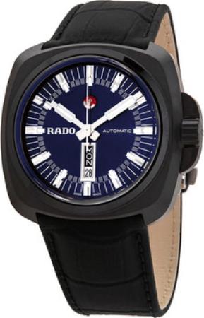 Rado Hyperchrome Herreklokke R32171205 Blå/Lær - Rado