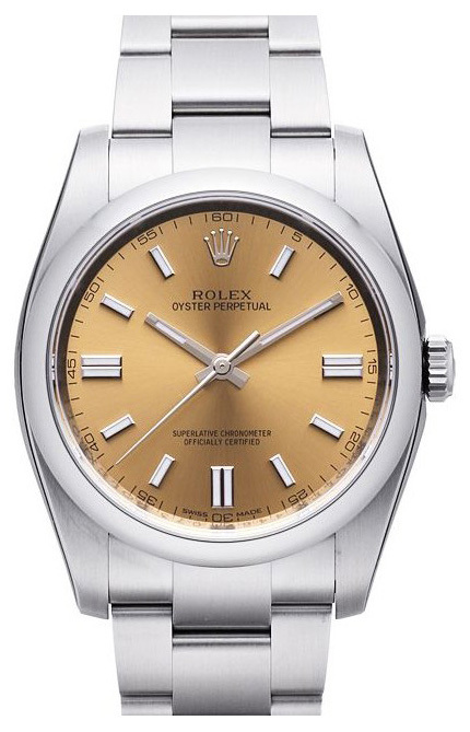 Rolex Perpetual 36 Herreklokke 116000-0011 Gulltonet/Stål Ø36 mm - Rolex