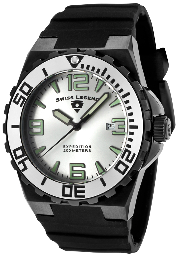 Swiss Legend Expedition Herreklokke SL-10008-BB-02S-SB - Swiss Legend
