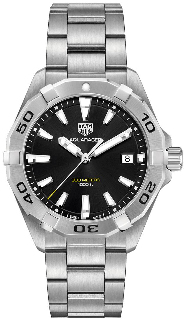 TAG Heuer Aquaracer Herreklokke WBD1110.BA0928 Sort/Stål Ø41 mm - TAG Heuer