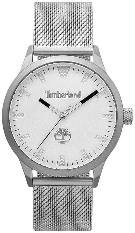 Timberland 99999 Herreklokke TBL15420JS04MM Sølvfarget/Stål Ø40 mm - Timberland