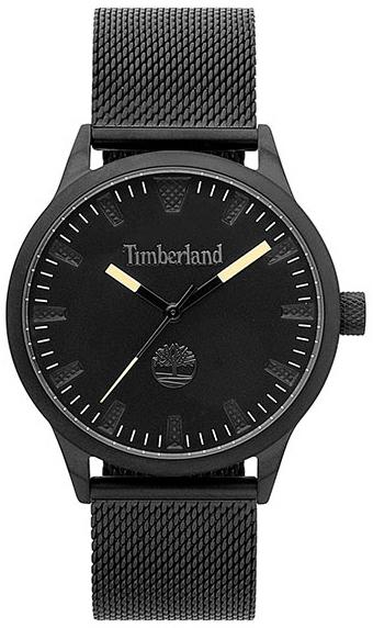 Timberland 99999 Herreklokke TBL15420JSB02MM Sort/Stål Ø40 mm - Timberland