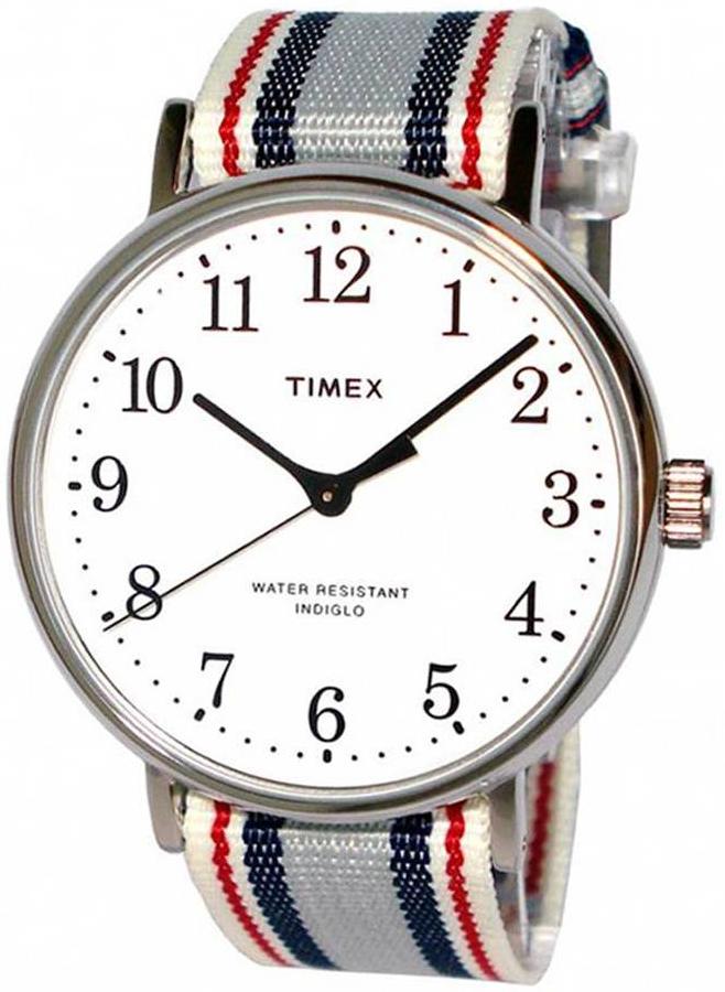 Timex 99999 ABT533 Hvit/Tekstil Ø37 mm - Timex