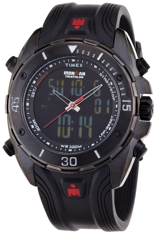 Timex Ironman Herreklokke T5K405 LCD/Resinplast Ø46 mm - Timex