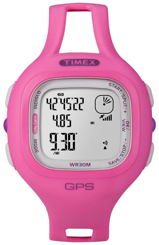 Timex Marathon Dameklokke T5K698 LCD/Resinplast - Timex