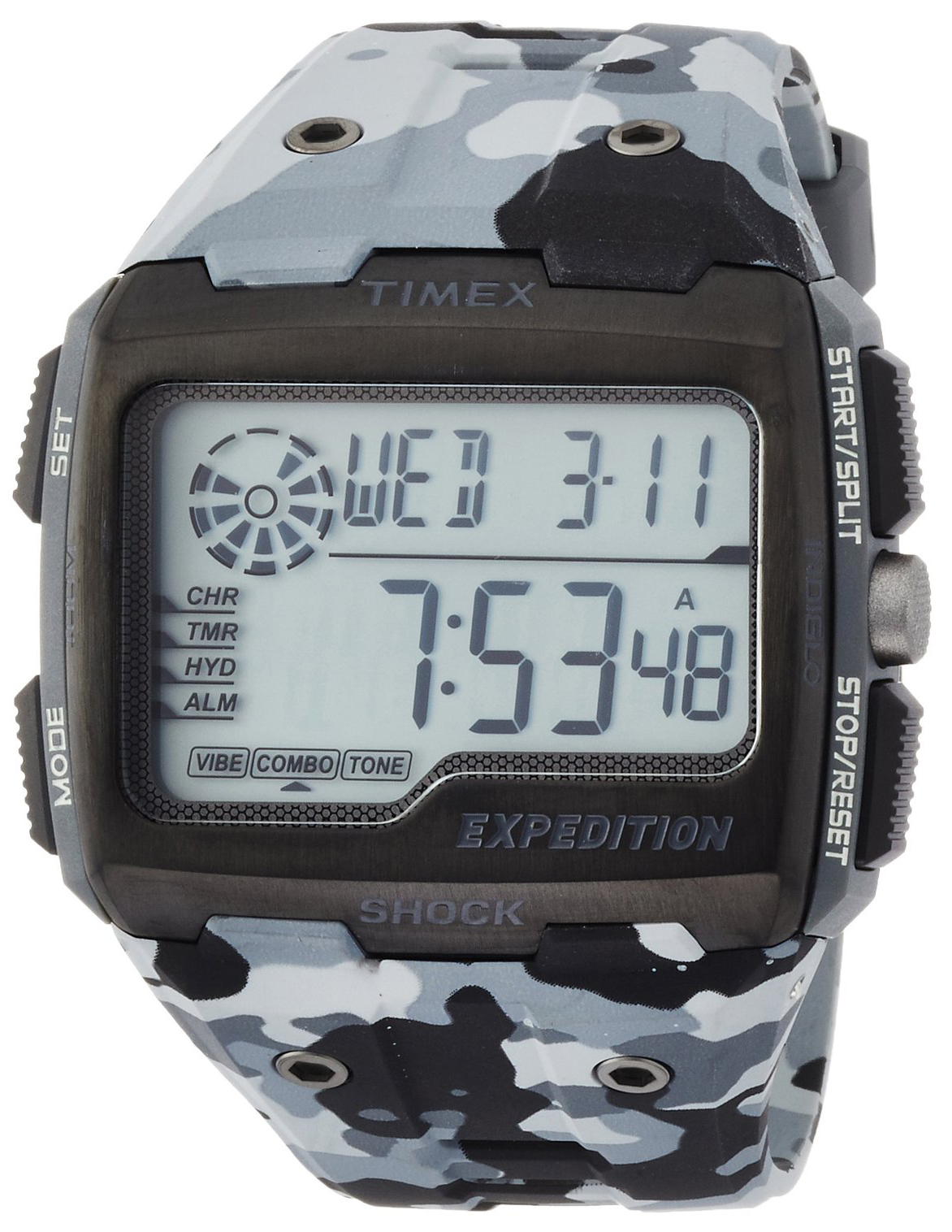 Timex Expedition Herreklokke TW4B03000 LCD/Resinplast - Timex