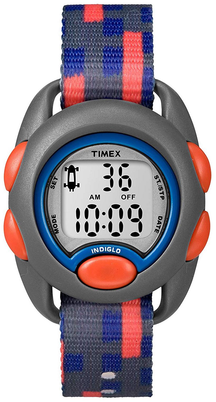 Timex 99999 TW7C12900 LCD/Tekstil Ø34 mm - Timex