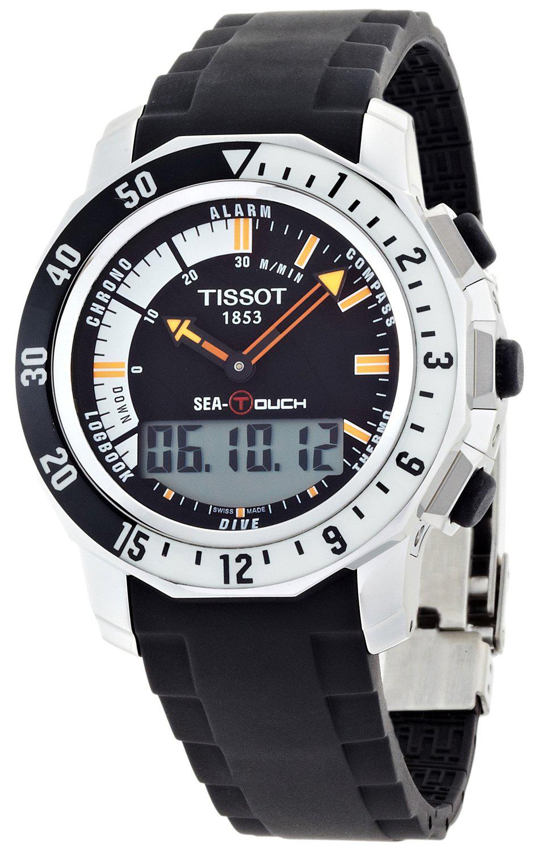 Tissot Herreklokke T026.420.17.281.00 Sort/Gummi Ø46.8 mm - Tissot