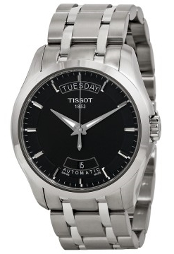Tissot Herreklokke T035.407.11.051.00 Sort/Stål Ø39 mm - Tissot