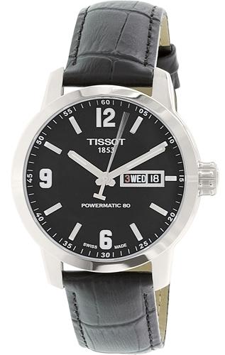 Tissot Herreklokke T055.430.16.057.00 Sort/Lær Ø40 mm - Tissot
