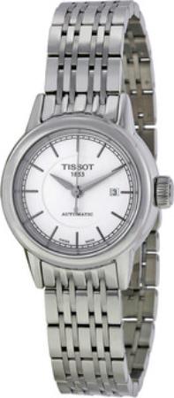 Tissot T-Classic Dameklokke T085.207.11.011.00 Hvit/Stål Ø29.5 mm - Tissot