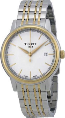 Tissot Herreklokke T085.410.22.011.00 Hvit/Stål Ø40 mm - Tissot