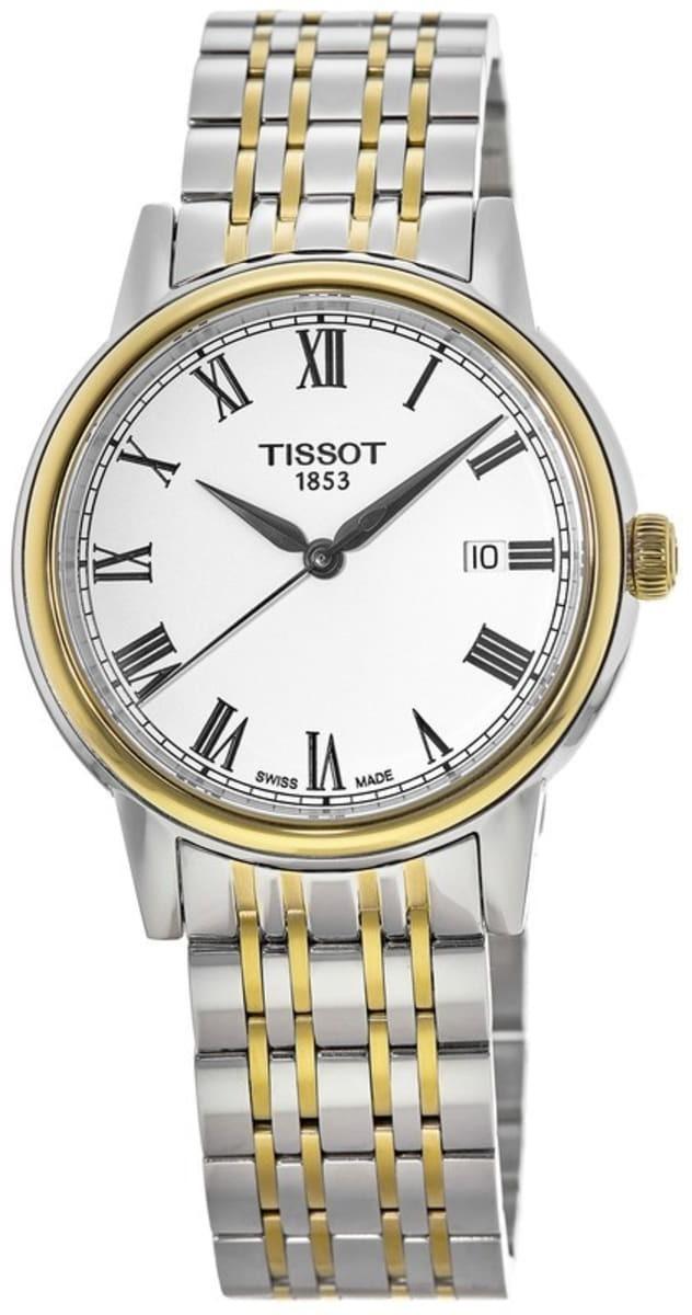 Tissot Herreklokke T085.410.22.013.00 Hvit/Stål Ø39 mm - Tissot