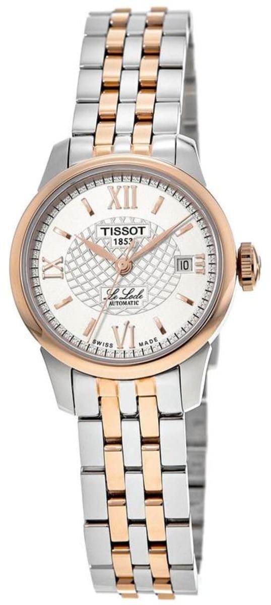 Tissot Le Locle Dameklokke T41.2.183.33 Sølvfarget/Rose-gulltonet - Tissot