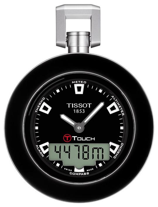 Tissot T-Pocket Pocket Touch T857.420.19.051.00 Sort Ø48 mm - Tissot