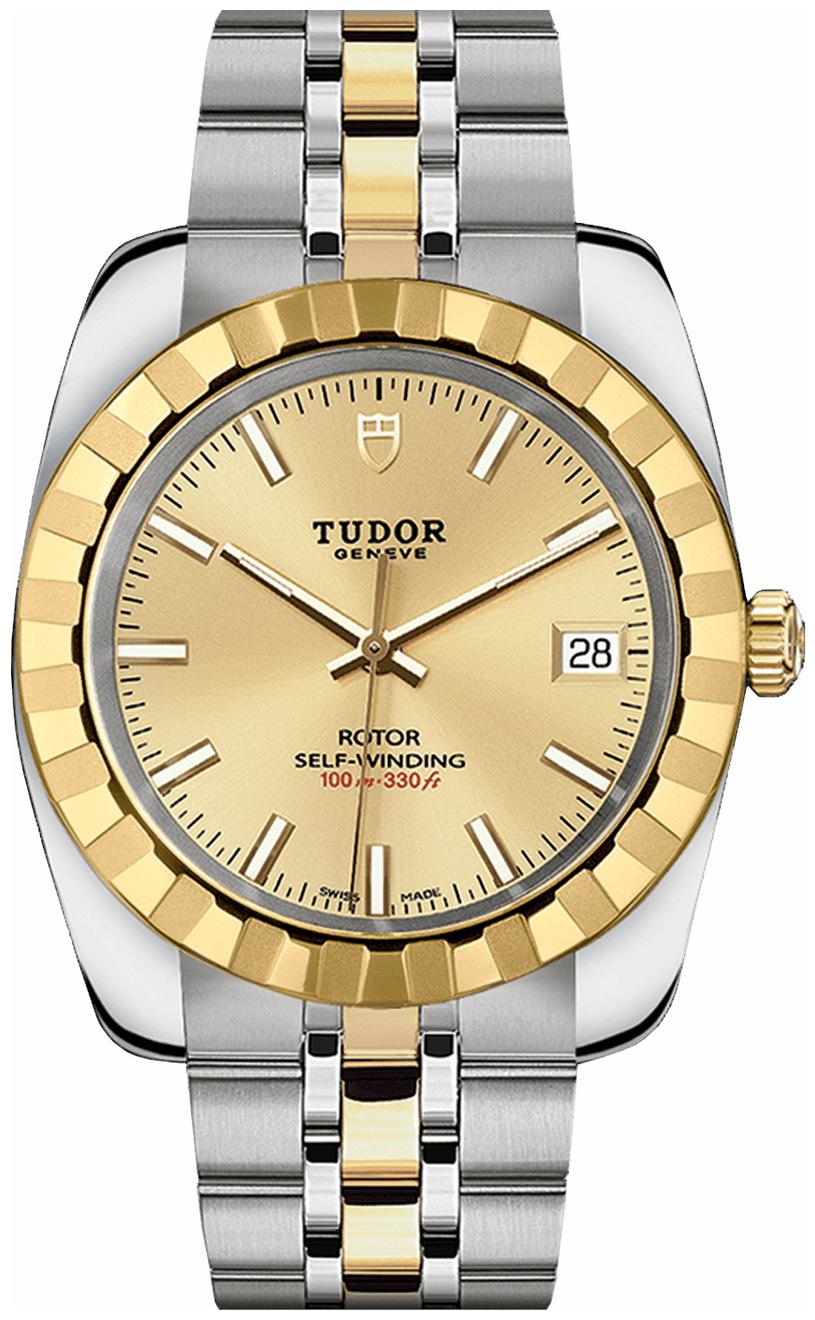 Tudor Classic Date Herreklokke 21013-0002 Gulltonet/18 karat gult - Tudor