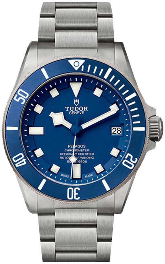 Tudor Pelagos Herreklokke 25600tb-0001 Blå/Titan Ø42 mm - Tudor