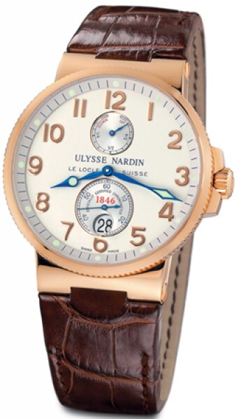 Ulysse Nardin Marine Collection Chronometer Herreklokke 266-66 - Ulysse Nardin