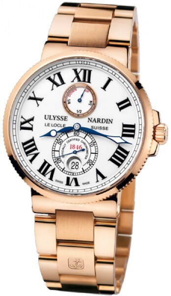 Ulysse Nardin Marine Collection Chronometer Herreklokke 266-67-8M-40 - Ulysse Nardin
