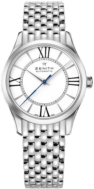 Zenith Captain Dameklokke 03.2310.679-38.M2310 Hvit/Stål Ø33 mm - Zenith
