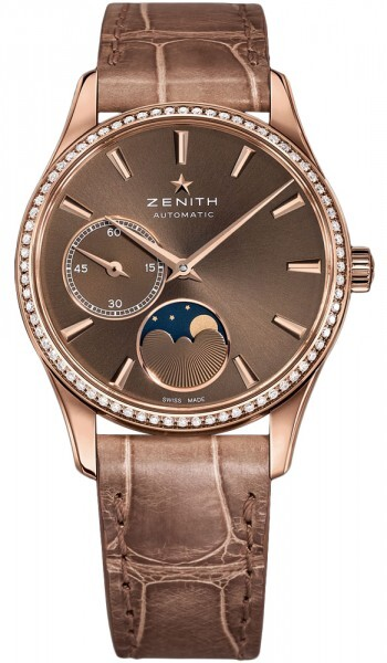 Zenith Heritage Ultra Thin Lady Moonphase Dameklokke - Zenith
