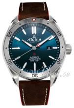 Alpina Alpiner Blå/Lær Ø44 mm