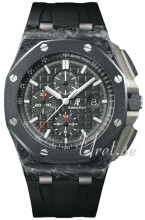 Audemars Piguet Royal Oak Offshore Sort/Gummi Ø44 mm