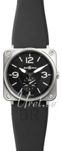 Bell & Ross BR S Quartz Sort/Gummi Ø39 mm