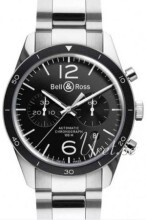 Bell & Ross BR 126 Sort/Stål Ø41 mm