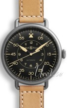 Bell & Ross WW1 Sort/Lær