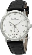 Blancpain Villeret Hvit/Lær