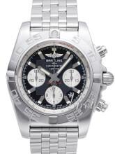 Breitling Chronomat 44 Sort/Stål